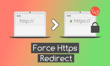 laravel https redirect